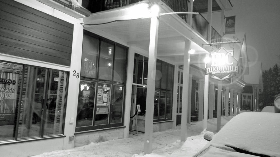 Architecture Black And White Brewery Building Exterior Built Structure City City Life Ellicottville, NY Enjoying Life EyeEm Best Shots EyeEm Nature Lover Hanging Out Hello World Illuminated No People Relaxing Residential Building Residential Structure Skiing Snow Taking Photos The Way Forward Transportation Winter This Week On Eyeem