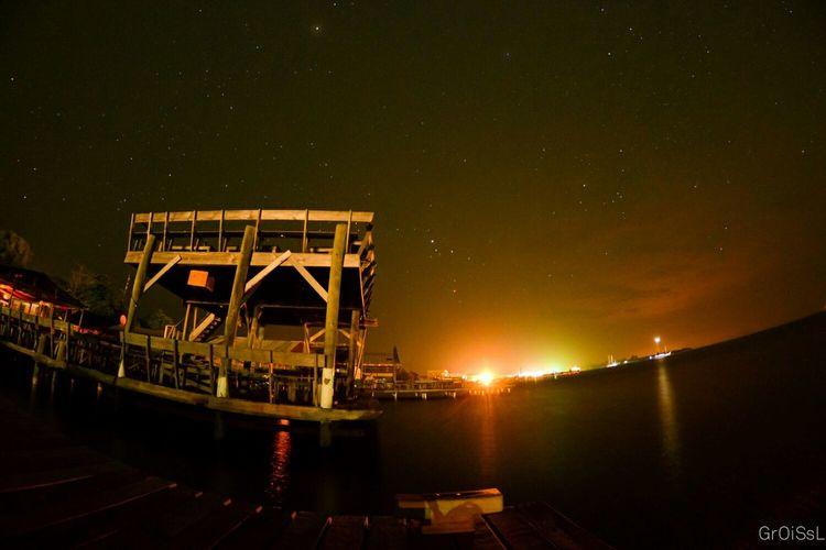 Night Nightphotography Night Lights Stars Utila Utila ♡ Honduras Ocean Ocean View Parrots