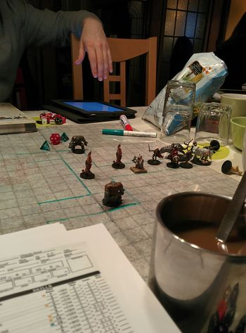 And to the combat we go!Dnd Pathfinder RPG