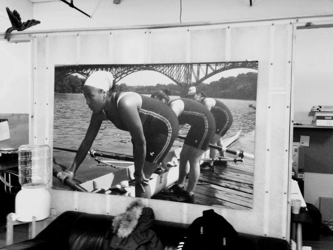 Wall Art at Row New York Rowing Love To Row Blackandwhite Tadaa Community
