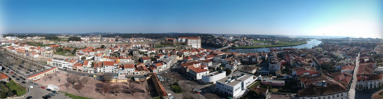 Panoramic of Vila do Conde - Vila do Conde, Portugal DJI X Eyeem Adult Adults Only Architecture Building Exterior Built Structure City City Life Cityscape Crowd Crowded Day Dji Spark High Angle View Large Group Of People Outdoors Panoramic People Sky Travel Destinations Vila Do Conde
