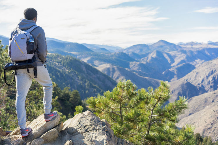 Pro Master Camera Bags are Great Denver Colorado  Lookout Mountain Mountain Men Adventure Full Length Healthy Lifestyle Sports Clothing Hiking Exercising Sport Mountain Peak Mountain Ridge Mountain Climbing Hiker