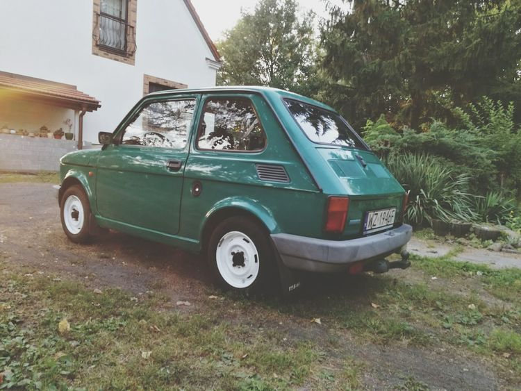 Nice Car Fiat 126p Maluch Sun Chilling My Love