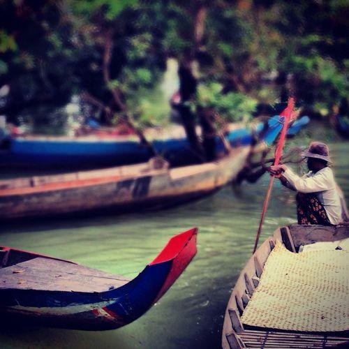 sampan ride through the mangrove Travel Cambodia Eye4photography  EyeEm