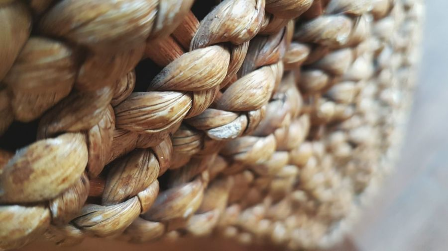 Close-Up Of Whicker Basket