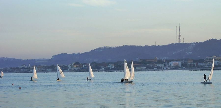 Sailing Beauty In Nature Day Nature Nautical Vessel Outdoors Sailboat Sea Sky Transportation Water Waterfront
