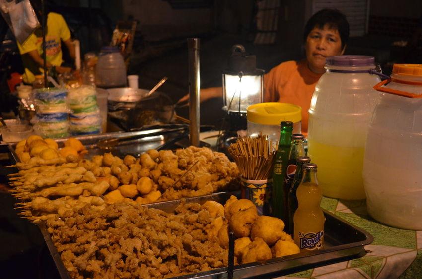 kwek-kwek and isaw ! my fav!Eyeem Philippines Food Trip Streetfood Philippine Delicacy