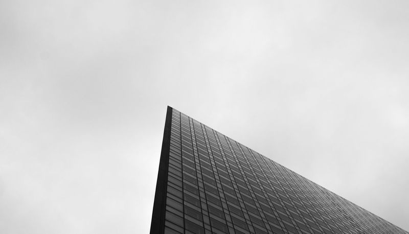 Graphic Graphic Photography Graphic Composition Triangle Window Angle Façade Building Blackandwhite Low Angle View Contrast The Graphic City