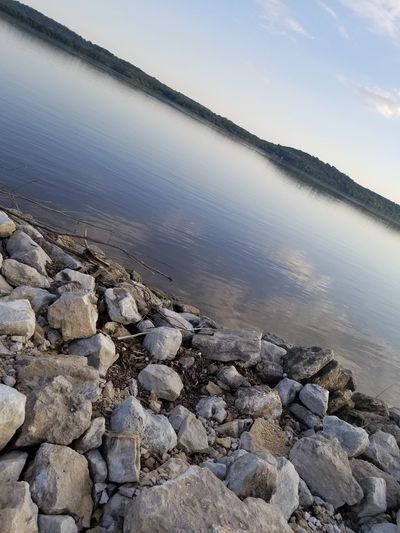 Iowa Outdoors Outside Water Cold Temperature Industry Winter Salt Basin Lake Sky Pebble Stone - Object Semi-precious Gem Coast Stack Rock Dam Pebble Beach Water Pollution Mineral