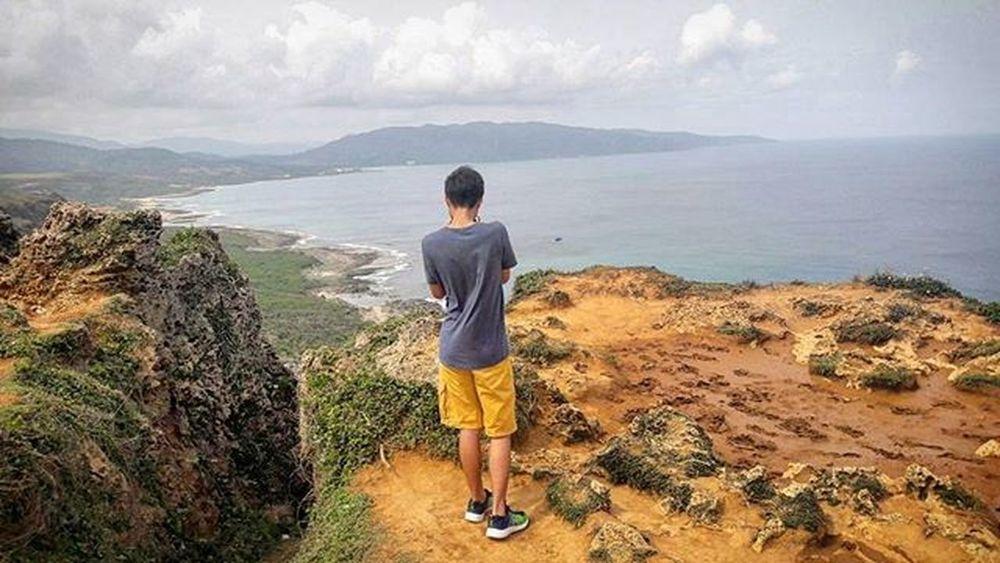 Throwback Pacific ocean C'est la vie😊😂 LOL Nature Ocean South Taiwan Mountains Pacificocean