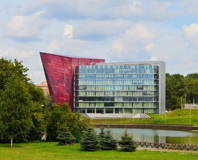 Architecture Minsk Sky Tree Grass