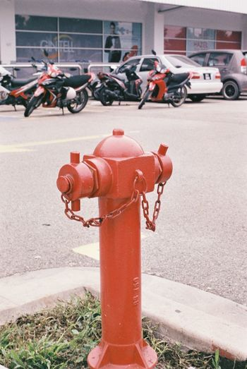 Emergency Response System Shah Alam Still Life Photography Photographylovers Film Photography Firefighter Fire Hydrant Red Rescue Emergency Equipment Fire Hose Hose Watering