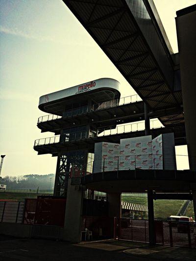 Another view Racetrack Architektur