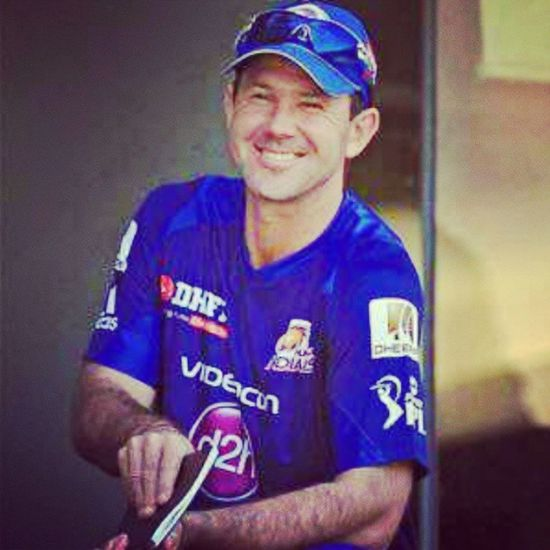 Lengedary player RickyPontting the captine of MumbaiIndians . @IPL, Ipl ,PepsiIPL .