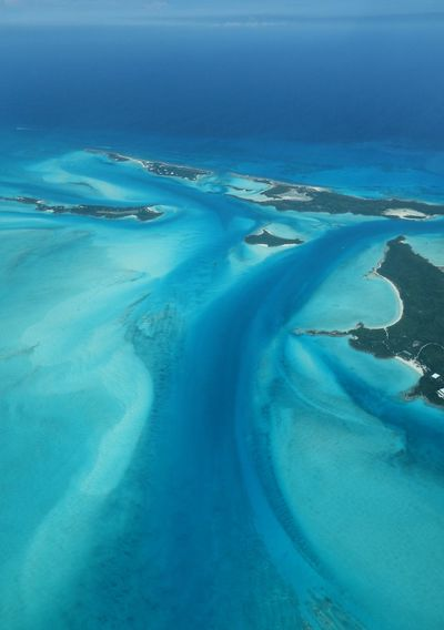 Little Halls Pond Cay 45201 Bahamas High Angle View Aerial Photography Sea Exumas Exuma Aerial View Island Beauty In Nature Travel Destinations Tranquility Clear Water Blue Turquoise Ocean
