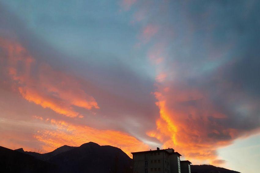 Sky Sunset Colour Your Horizn