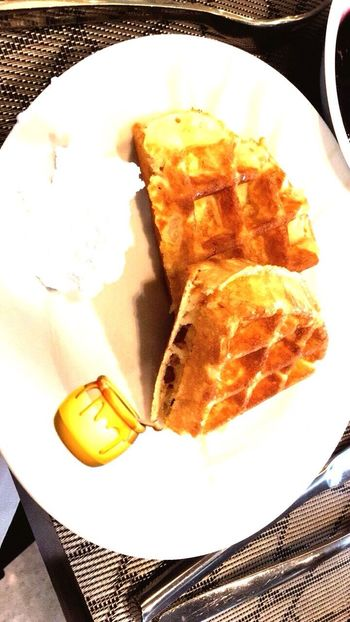 Foodies Paradise Waffle Time EyeEmNewHere