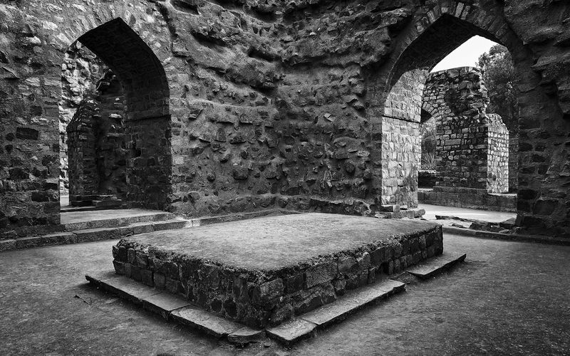 This image is part of my ongoing project covering the last resting places of Delhi Sultanate. Grave Delhi Sultanate Delhi Sultanate Tomb Tomb, Architecture Monochrome Travel