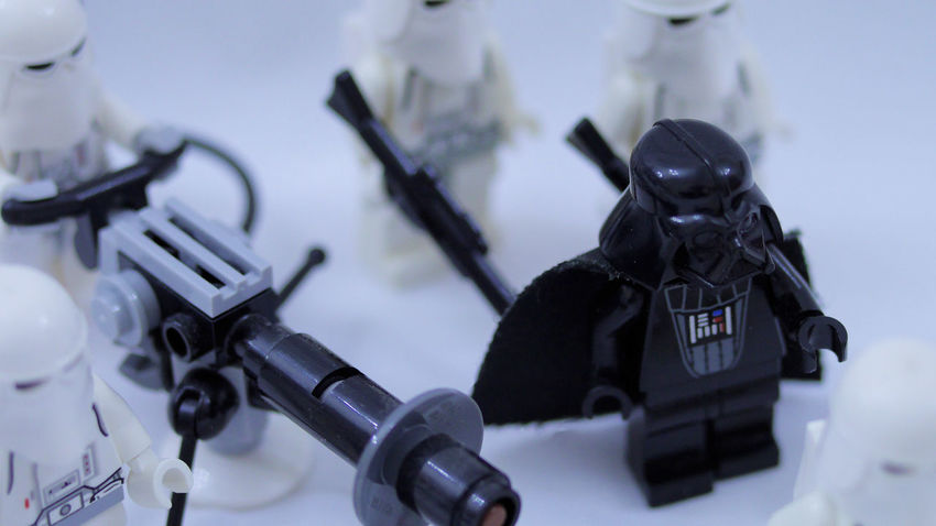Darth Vader Galactic Empire LEGO Snowtrooper Star Wars The Empire Strikes Back Close-up Hoth No People
