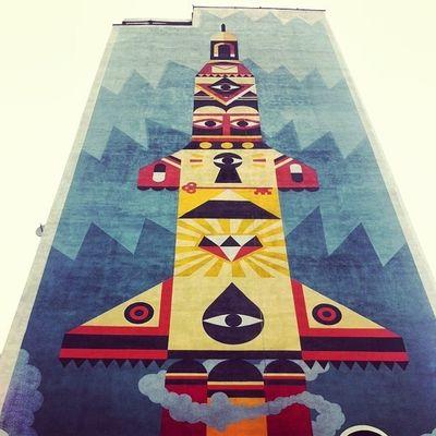 Gdansk Murals IPSAngle Gdansk Streetart Mural