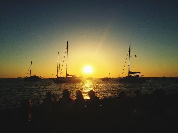 Sunset Ibiza Café Del Mar  First Eyeem Photo