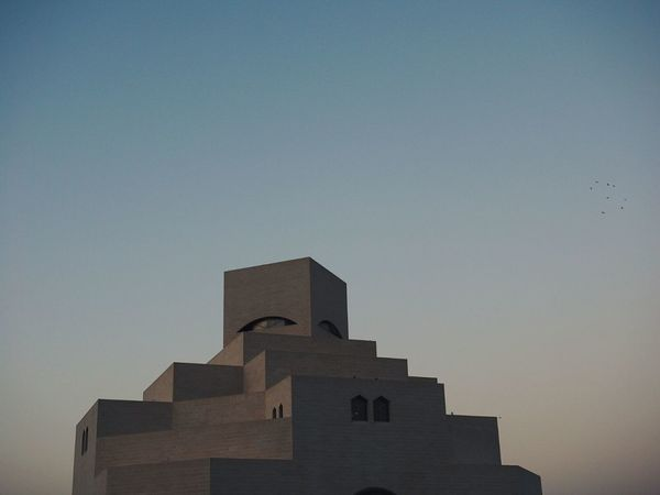 Museum Architecture Sunset No People Outdoors Sky Day Modern Islamic Architecture Istanbul Islamic Art Doha,Qatar Doha Qatar DohaCity❤ Doha_photography Douane De Mer Doha Skyline Dohaqatar