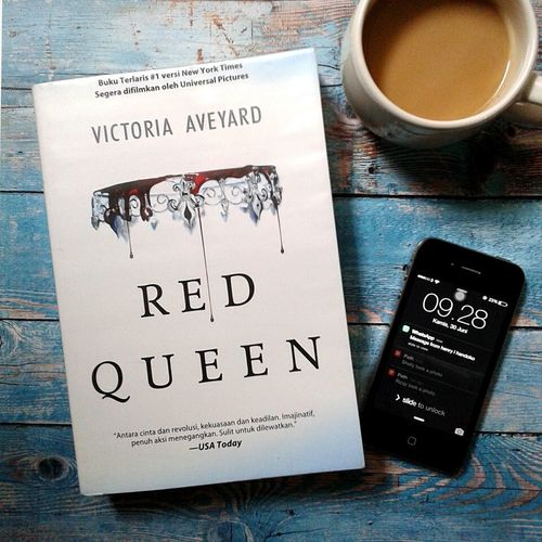 Taking Photos Check This Out Mobile Photography INDONESIA Photography Is My Escape From Reality! Editoftheday Book Reading Time Reading & Relaxing Booklover Reading Books Reading Relaxing Coffee Time Red Queen Victoria Aveyard