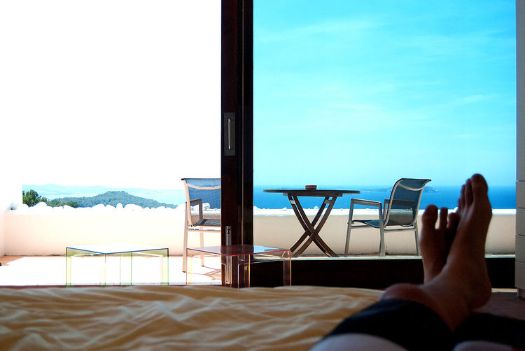 Bed Feet Goodlife Holiday Ibiza Ocean Ocean View Sea Sea View Summer Sun Terrace Vacation View From My Bed Window