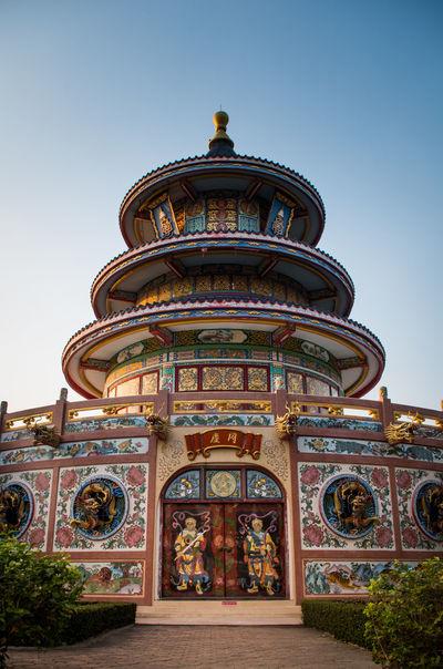 Wat Thawornwararam, Kanchanaburi, Thailand Architecture Building Exterior Built Structure No People Place Of Worship Religion Spirituality Travel Destinations Wat Thawornwararam กาญจนบุรี วัดถาวรวราราม