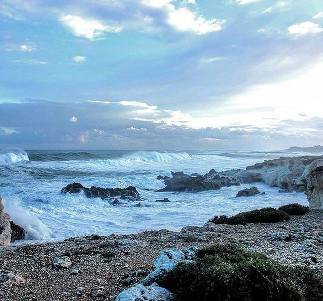 Winter sea..!October Italy Sicily Siracusa Ognina Sea Windyday Wind Nature Power Naturephotography Naturepower Instanature Instalove Cloud Cloudyday Perfection Earthpower Naturelovers