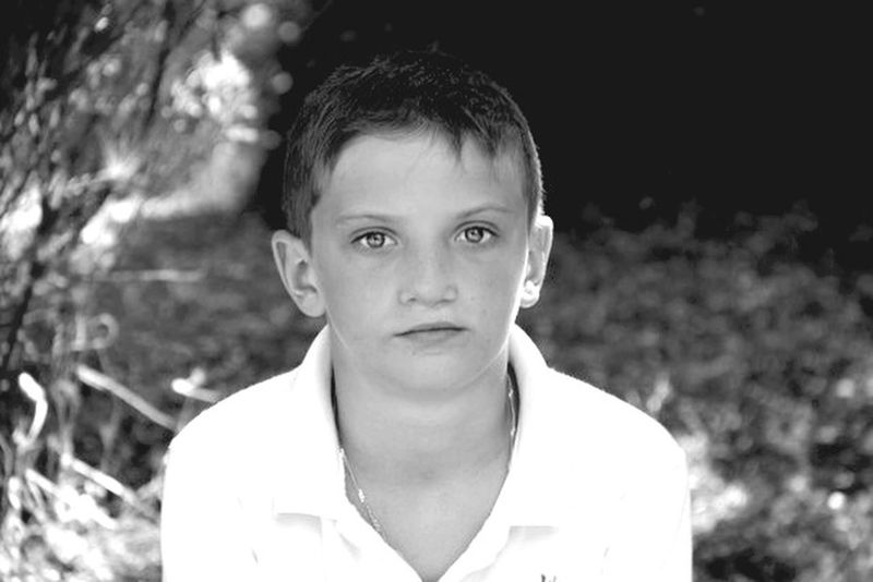 B&W Portrait Children Portrait Photography Portrait