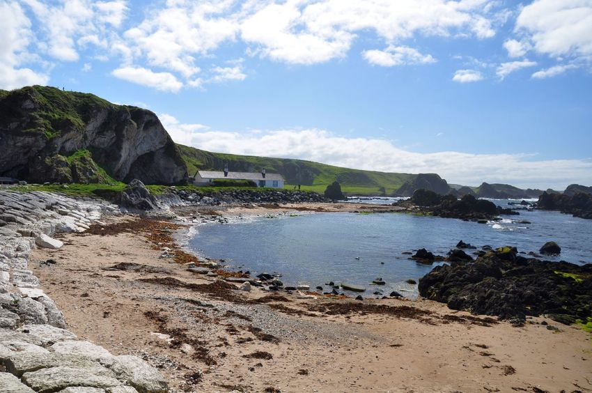 Ballintoy Ballintoy Beach Beautiful Beauty In Nature Coastline Landscape Nature Outdoors Scenics Sea