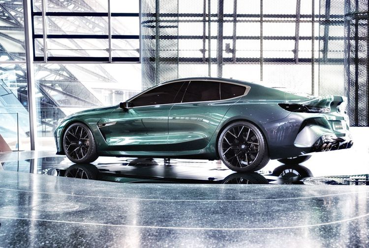 BMW M8. Coupè M8 Bmw Car Motor Vehicle Mode Of Transportation Transportation Land Vehicle Glass - Material Indoors