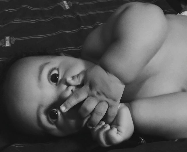 Chunky baby black&white mixedbaby cute beauty in one photo happiness with love and how beautiful is the innocence in a child First Eyeem Photo