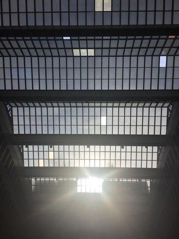 台北車站大廳的天花板是台北的天空 Lookingup Taipei,Taiwan Taiwan Taipei Indoors  Architecture Built Structure Illuminated No People Sunlight Light Window
