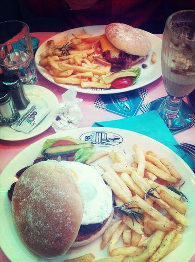 Happy Days Dinner. Enjoying Life
