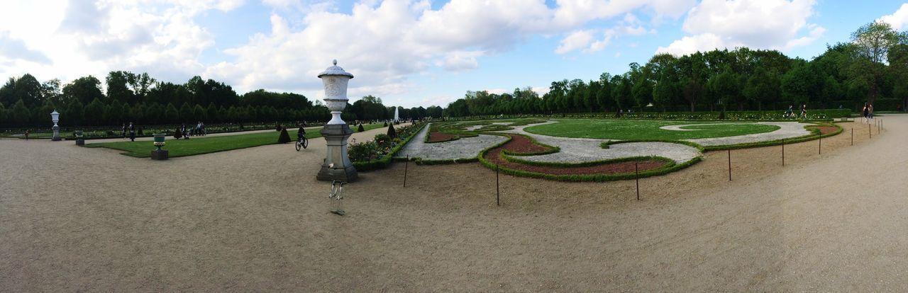 Garden Castle Garden Charlottenburg  Charlottenburg Palace