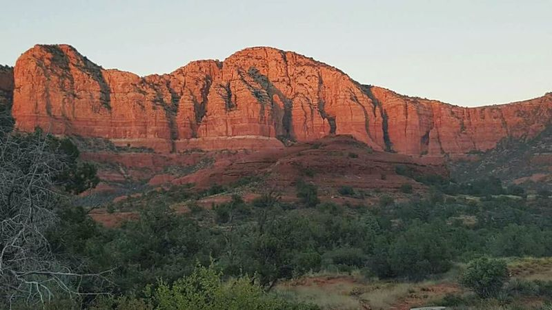 Beauty In Nature Sedona, Az Landscape Rock - Object Geology Scenics Nature No People