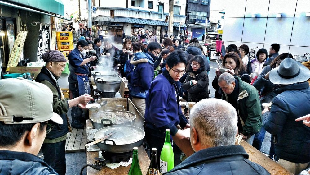 I don't know what's boiling but there's definitely sake and the 2 old dudes are chugging it Taking Photos Streetphotography Street Photography People Candid Photography People Photography Food EyeEmBestPics EyeEm Best Shots Eye4photography  People Watching Walking Around Capture The Moment Street Life Japanese Sake New Year Around The World Everybody Street Everybodystreet Street Showcase: January