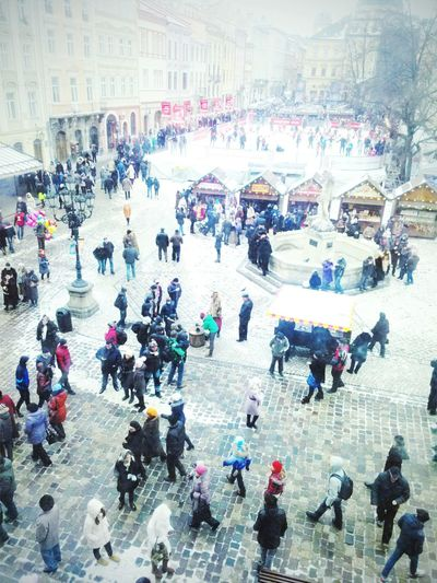 Urban 4 Filter From My Point Of View Ukraine Panorama Piople Enjoying Life Walk Winter On The Streets Arhitecture