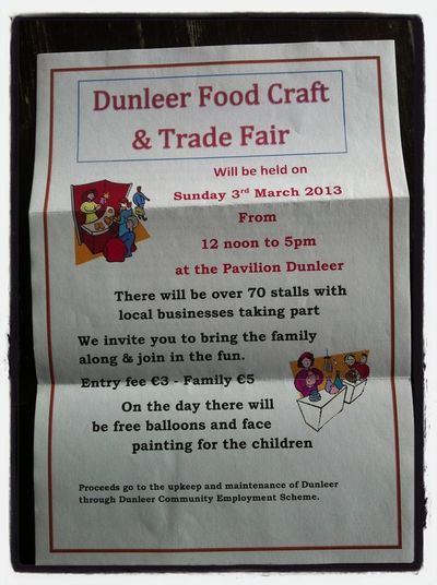 I will have a stall at the Dunleer Food and Craft Trade Fair, I would love to see some of you there :)