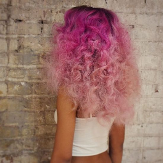 Colorful Hair Gorgeous Selfportrait Beautiful