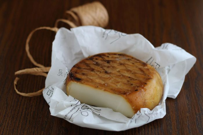 goat smoked cheese