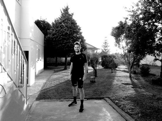 Jogging Enjoying Life Sport Blackandwhite That's Me