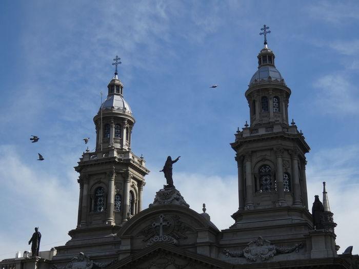 Architecture Chile ChileConHistoria Church Faith Santiagoapie Catedral De Santiago Plaza De Armas - Santiago