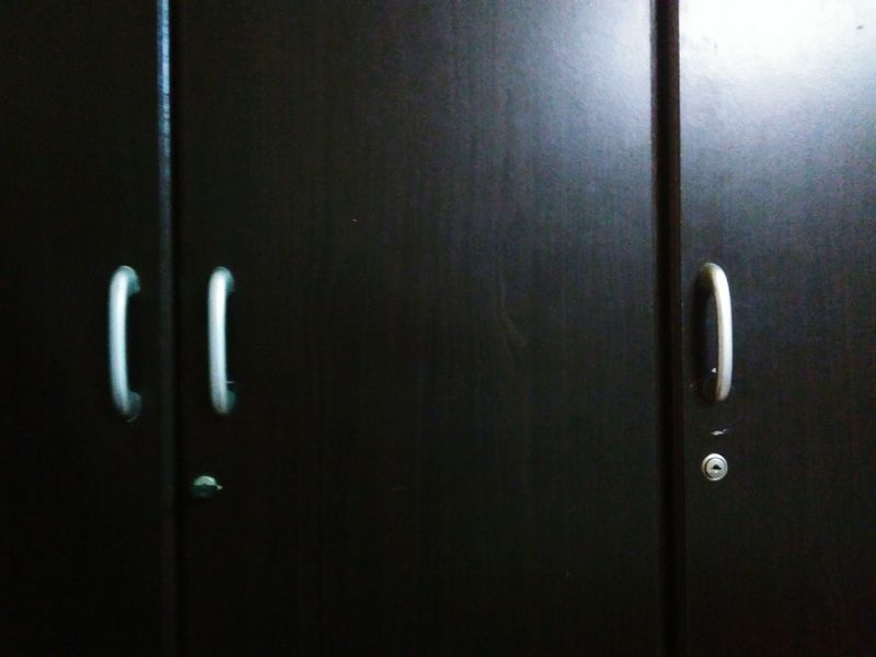 Cupboard Doors Steel Hand Indoors  Close-up No People At Home! EyeEm Gallery Stylish Art Is Everywhere Break The Mold Black Background