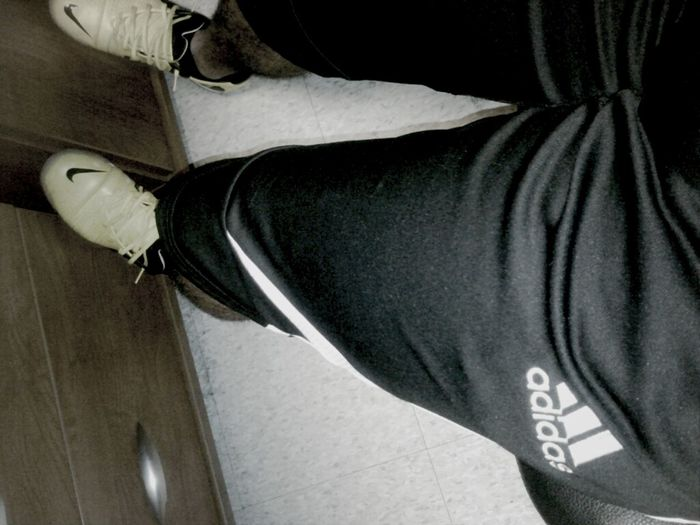 Not even the cold can stop me from wearing my 3/4 pants!