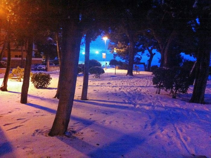 Snow in Split