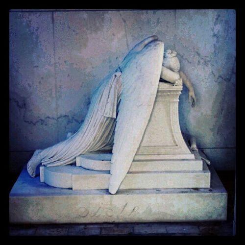 For my sister. #angel #tomb #cemetery #weepingangel #grievingangel #mausoleum #love #sister #nola #neworleans #metairie #metairiecemetery Metairie Grievingangel Metairiecemetery Weepingangel Love Angel Cemetery Mausoleum Sister NOLA Tomb Neworleans