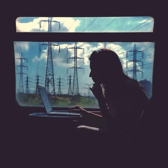 Electricity Mytrainmoments The View From My Window The Traveler - 2014 Eyem Awards The Portraitist - 2014 EyeEm Awards Mydtrainmoments